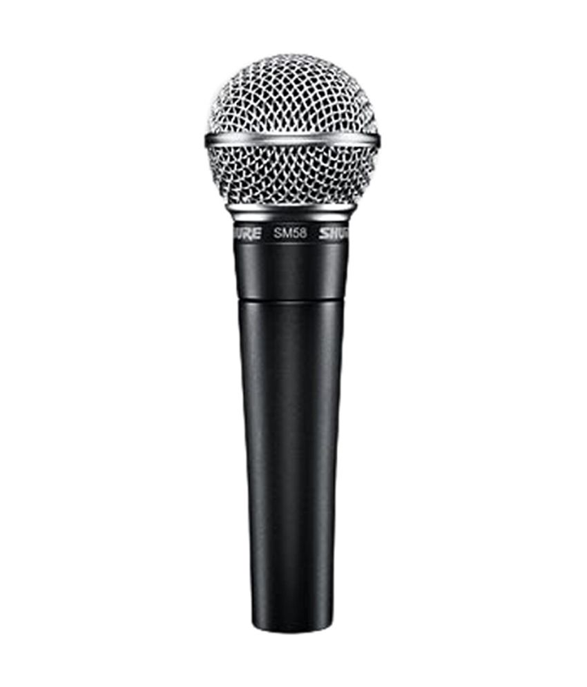 buy shure sm58 lc cardioid dynamic vocal microphone online at best price in india snapdeal. Black Bedroom Furniture Sets. Home Design Ideas