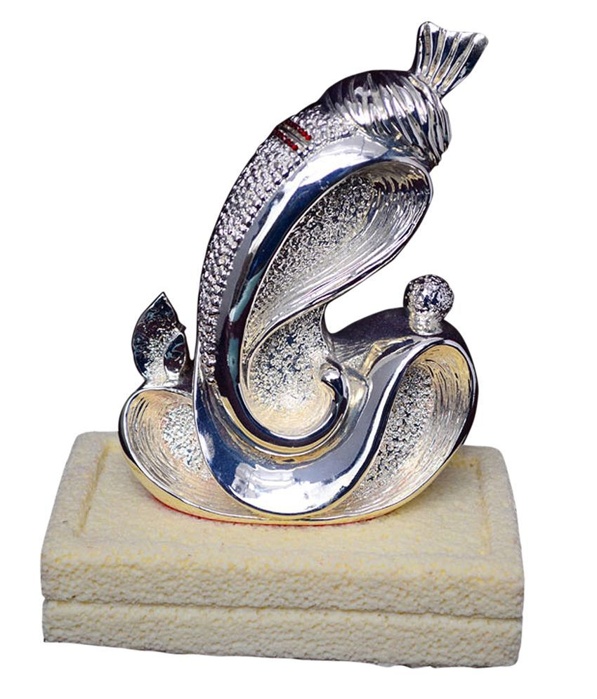 The Artist Goodhal Flower Ganesha With Base