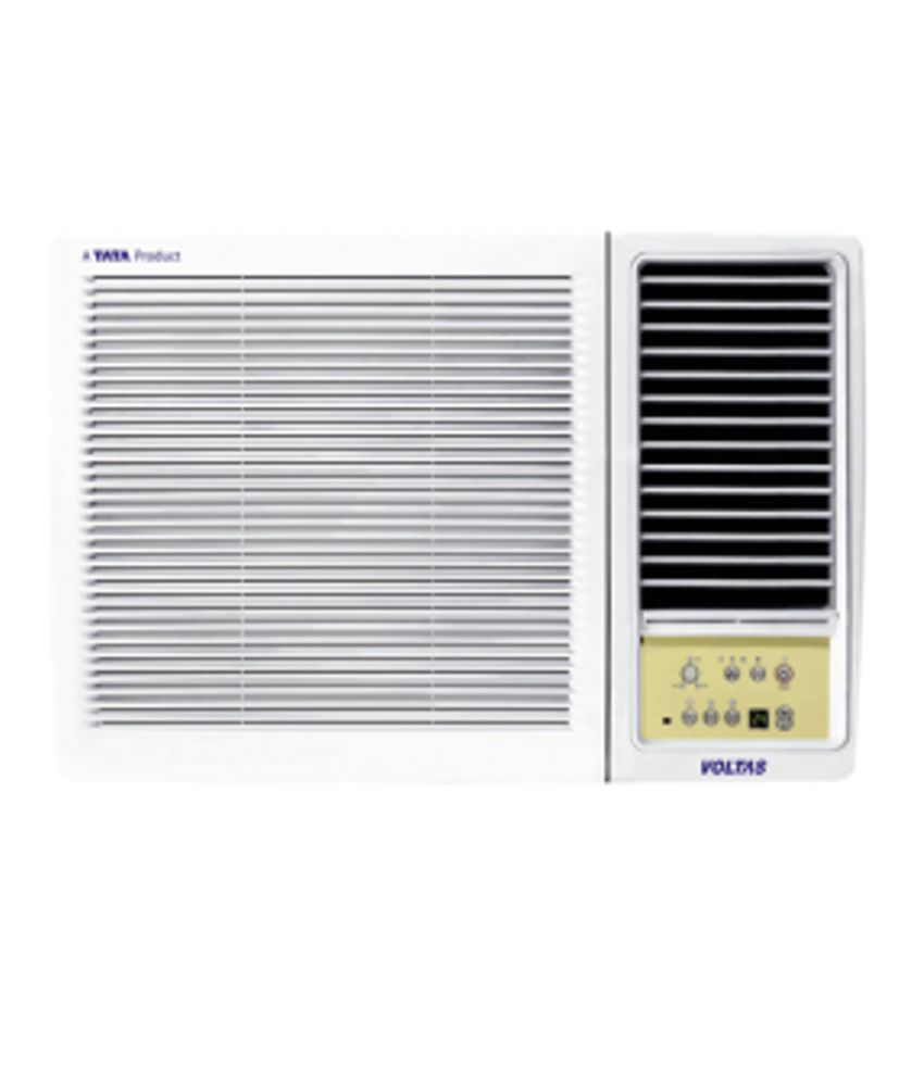 Voltas 1 ton 3 star 123 lyi window air conditioner white for 1 ton window ac price list 2013