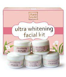 Auravedic Ultra Whitening Facial Kit gm