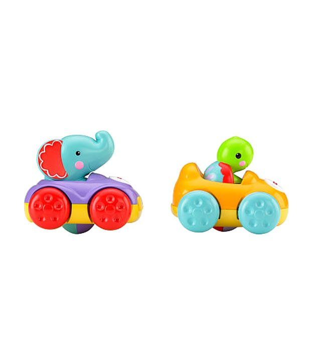 Fisher Price Silly Speedsters Friendly Racers Elelphant And Turtle Baby Toys