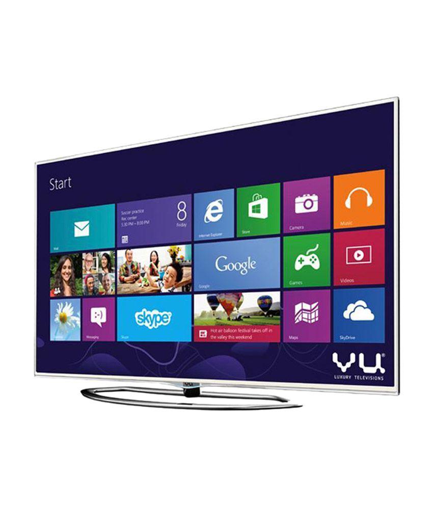 Vu 55XT780 139.7 cm (55) 3D Super LED Television (with Built-in Windows PC)