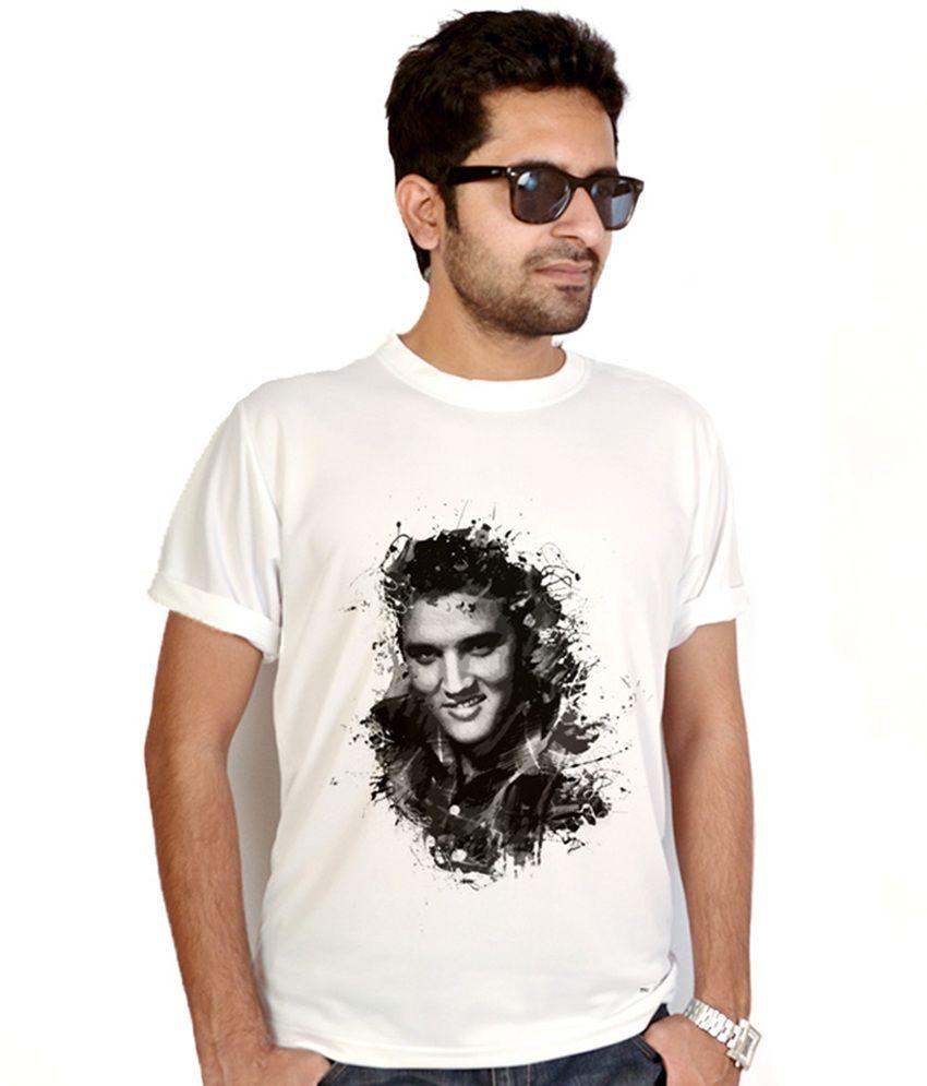 Bluegape Elvis Presley Abstract T-Shirt