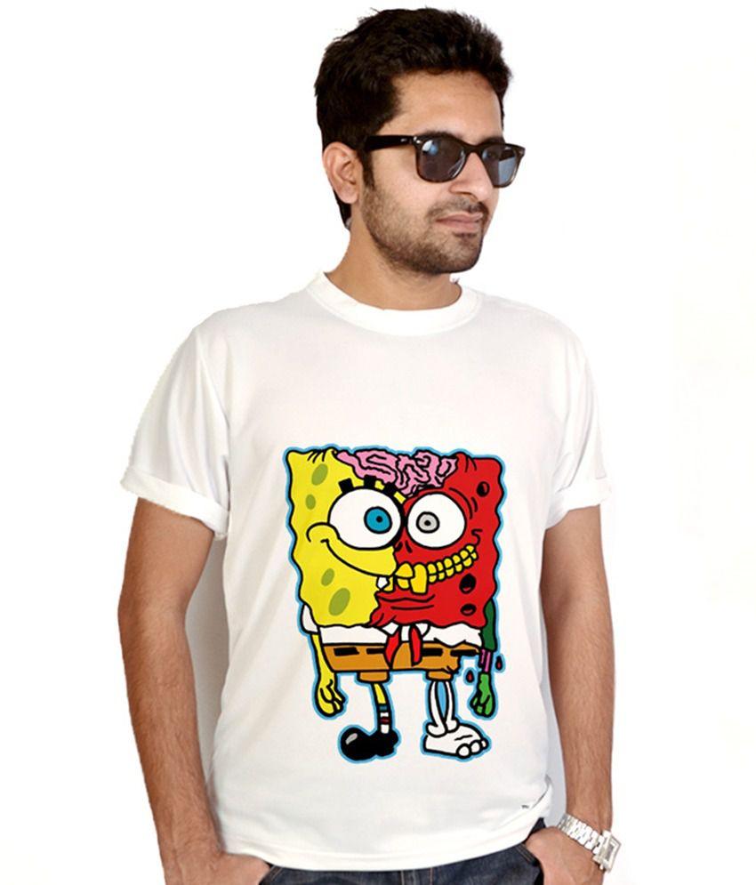 Bluegape Spongebob Abstract T-Shirt