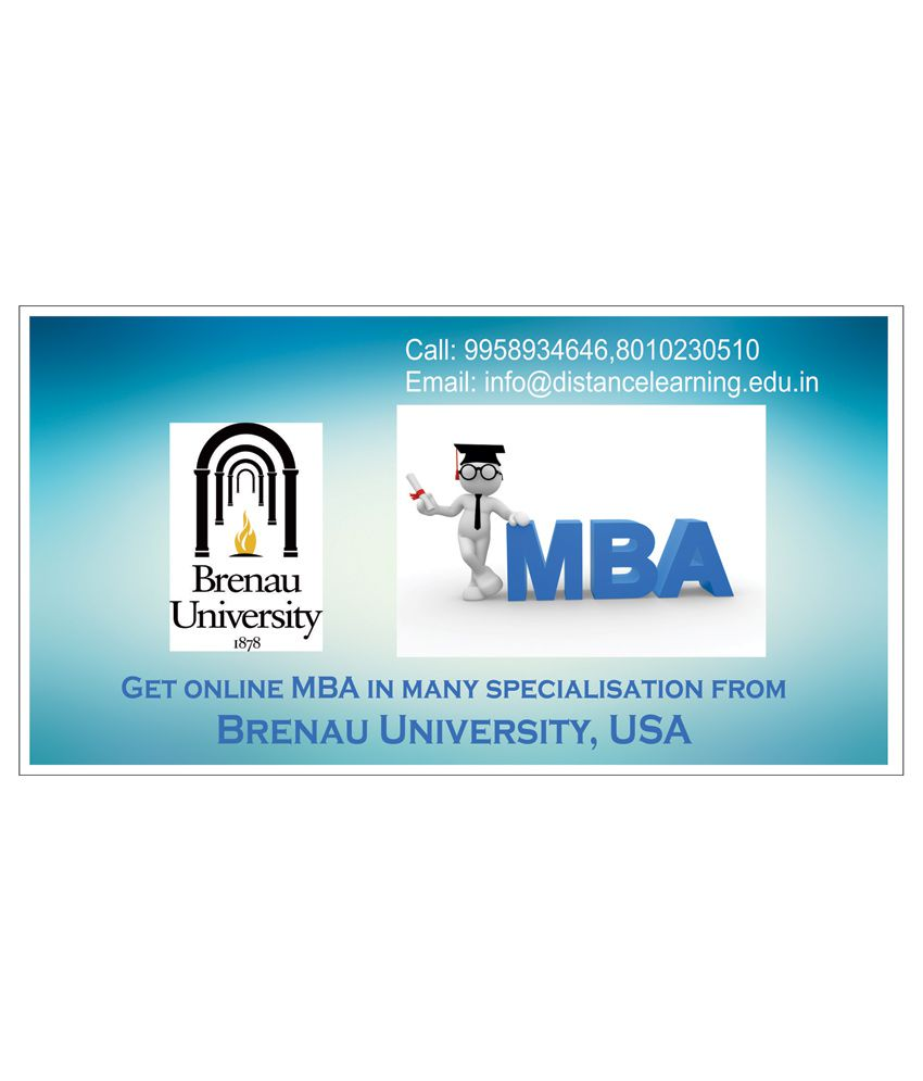 MBA from Brenau (Brenau University,USA) by DLP India