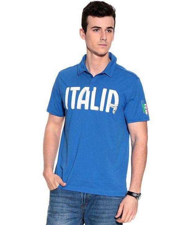 Puma FIGC Italia Polo Team Power Bl