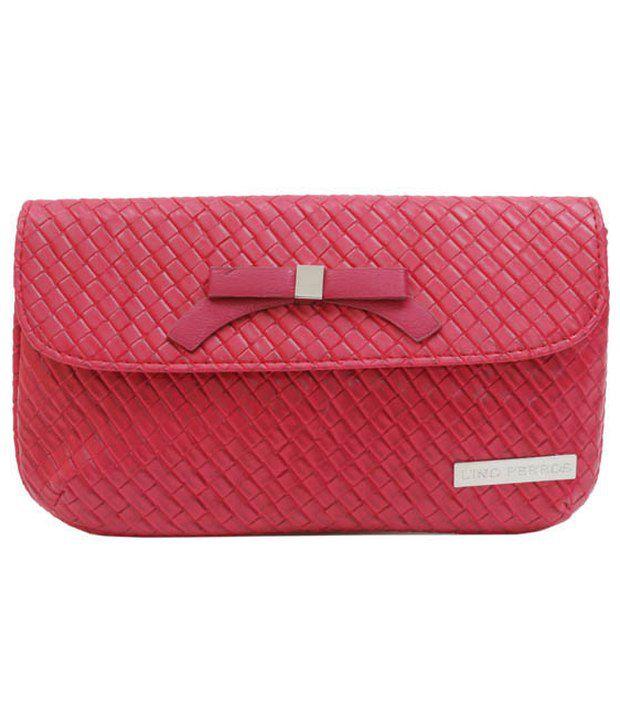 Lino Perros Lwcc00132-Pink Pink Clutch