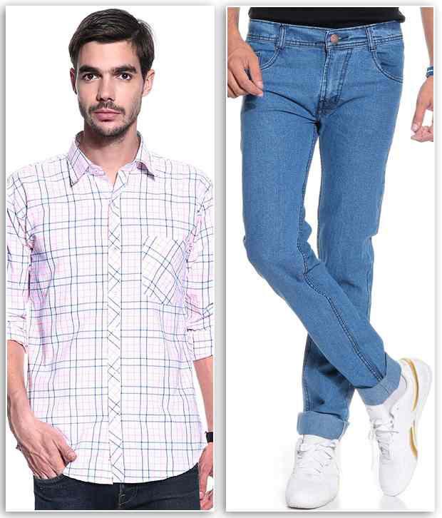 Coaster Blue Regular  Fit Jeans