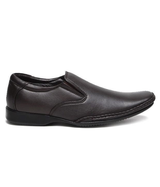 10b18059edbb Franco Leone Brown Formal Shoes Price in India- Buy Franco Leone Brown Formal  Shoes Online at Snapdeal