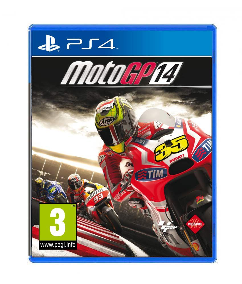 Buy MotoGP 14 Standard Edition PS4 Online at Best Price in India - Snapdeal