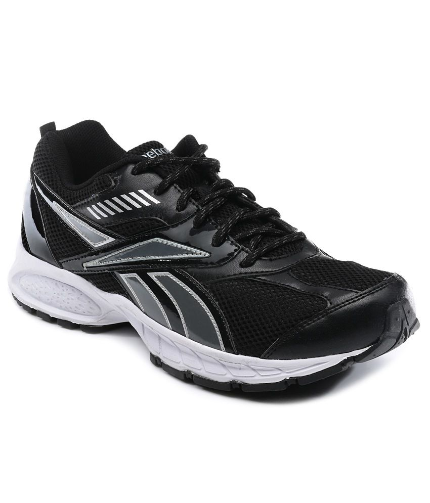 reebok gray sports shoes