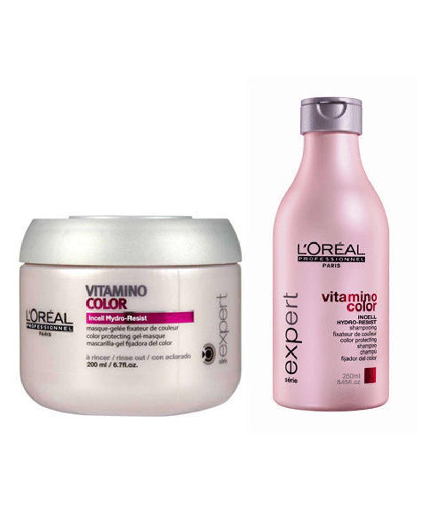 Loreal Professionnel Serie Vitamino Color Shampoo 250ml Masque