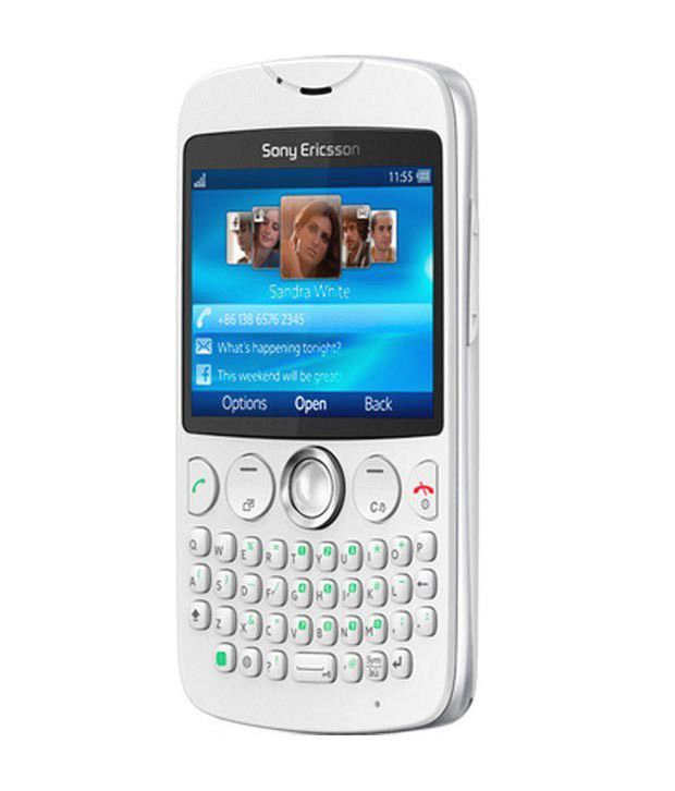Sony Ericsson TXT CK13i White Mobile Phones Online at Low ...