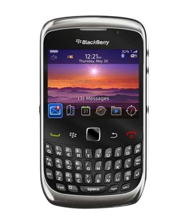 Blackberry Curve 3G 9300 Graphite Grey Mobile Phones ...