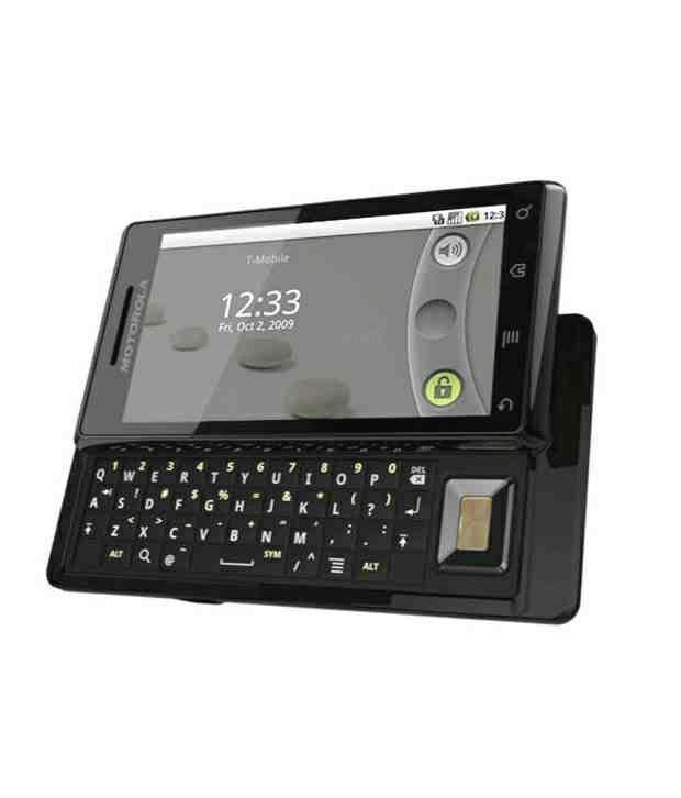 Motorola Slider Mobile Phone Milestone Licorice (Golden Brown)