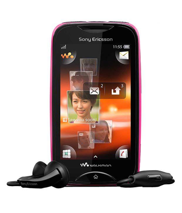 sony ericsson mix walkman wt13i pink black mobile phones online at rh snapdeal com Sony Ericsson Xperia X8 Sony Ericsson Xperia Play