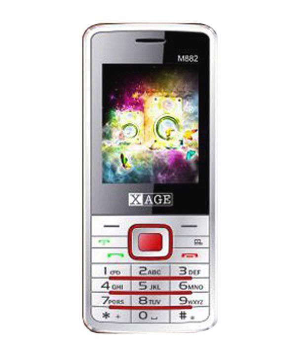 Xage M882 White+Red