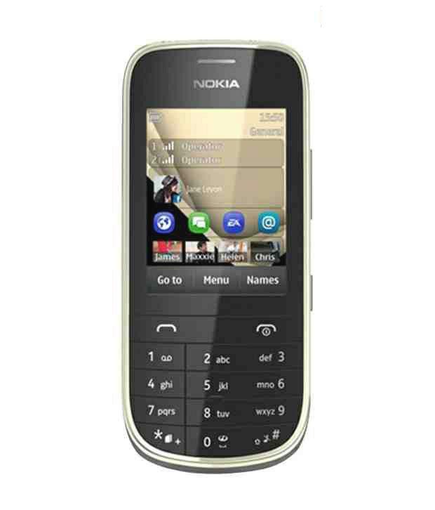 Nokia Asha 202 (Black)