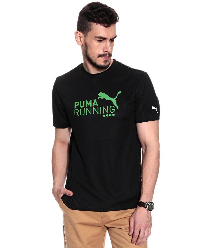 Puma PE_Running_Logo_S S_Tee black-