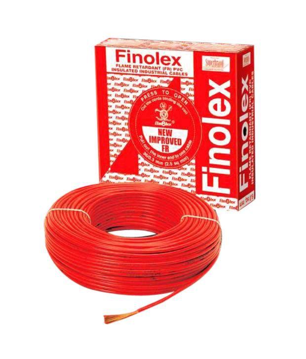 buy finolex house wire 1 5 sqmm fr 90 mts red online at low price in rh snapdeal com
