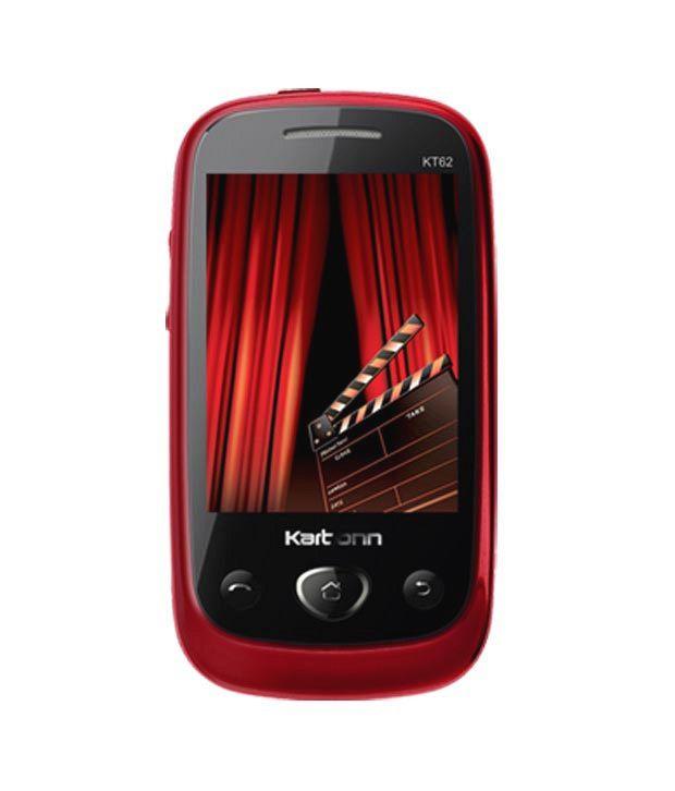 Karbonn KT62 Black-Red