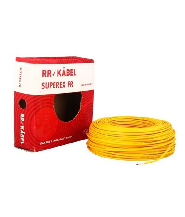 buy rr kabel pvc insulated single core cables 4mm black online at rh snapdeal com