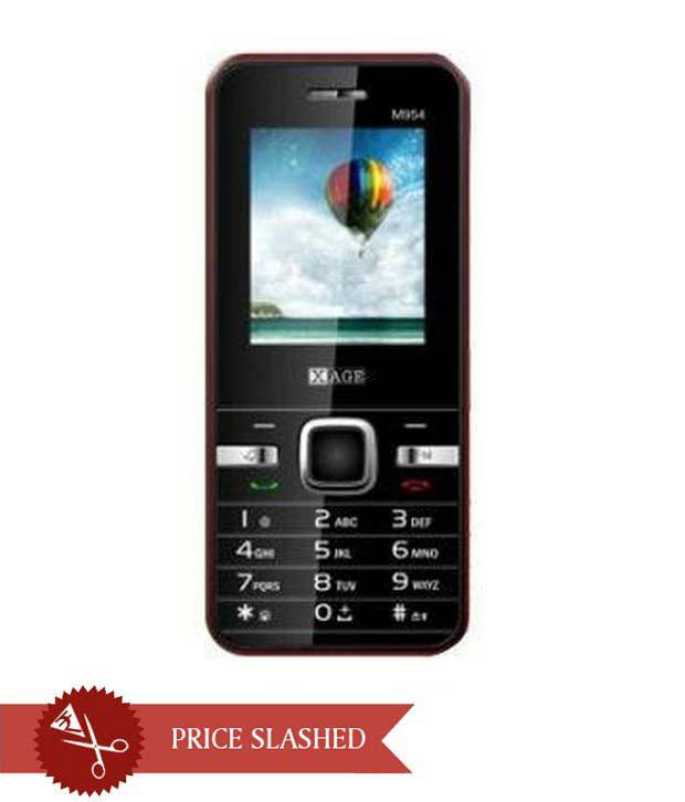 Xage M-954 Champ CDMA Black+Red