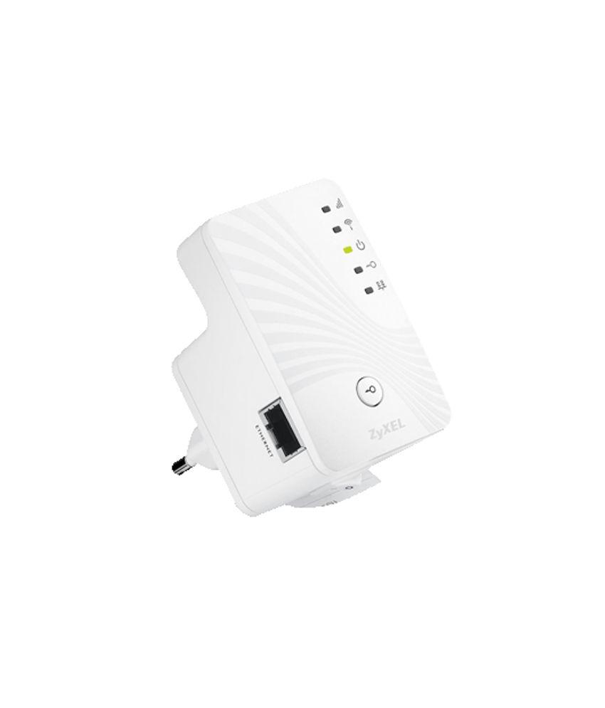 Zyxel WRE2205 v2 300 MBPS Wall Plugged Wireless LAN Extender, Mini