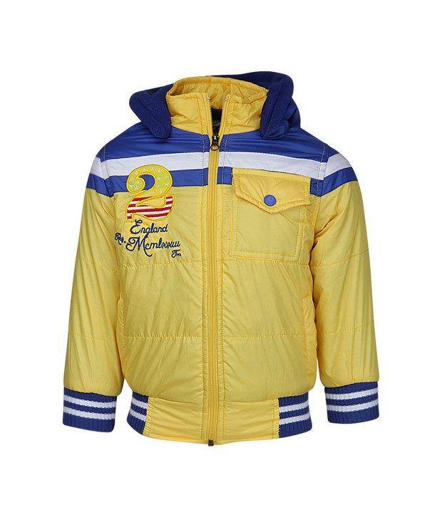 Peridot Yellow Jackets & Blazer For Girls