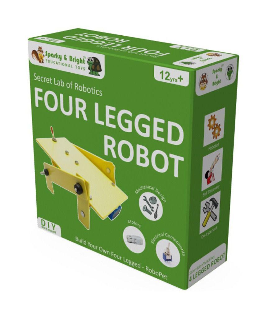 Secret Lab of Robotics - Four Legged Robot