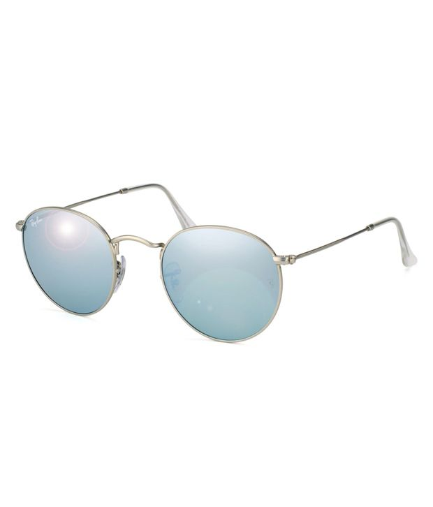 ray ban round sunglasses  Ray-Ban Silver Round Sunglasses (RB3447 019/30 50-21) - Buy Ray ...
