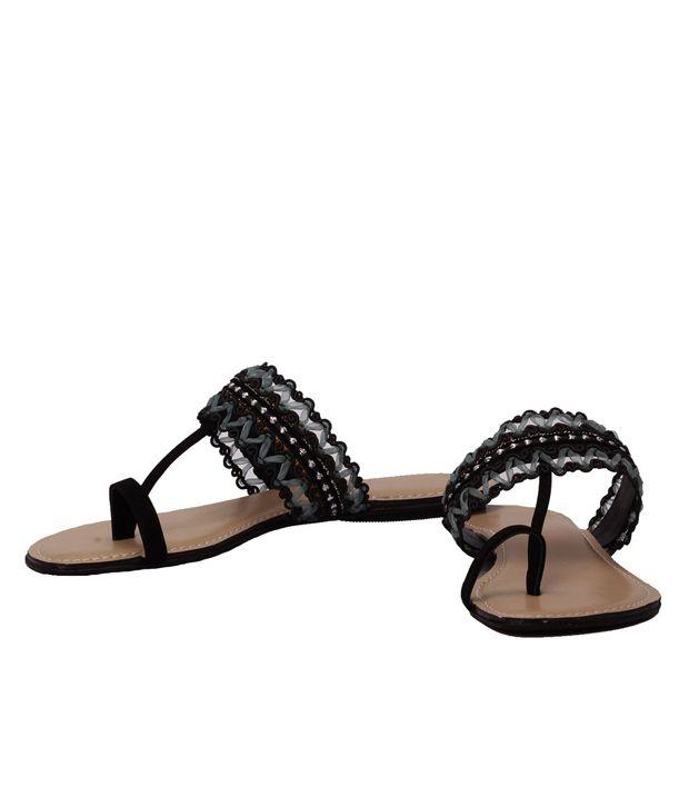 Cocoon Black Flats