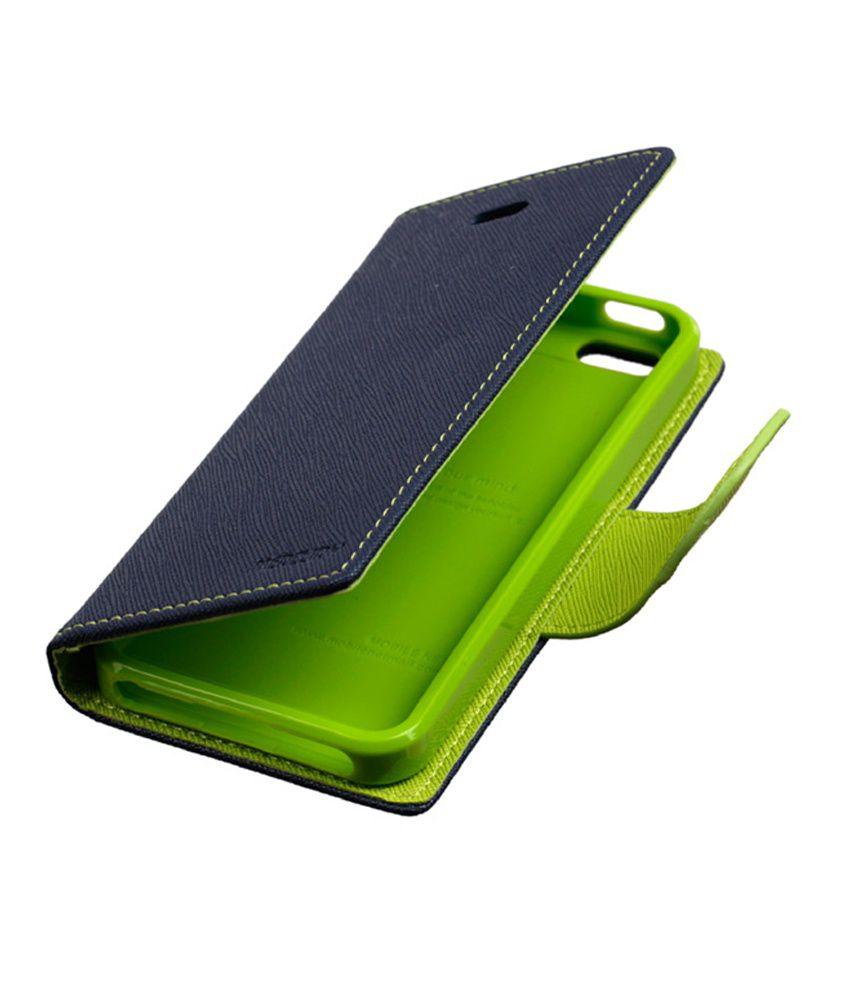 Feomy Flip Cover For Samsung Galaxy Core I8262 Green