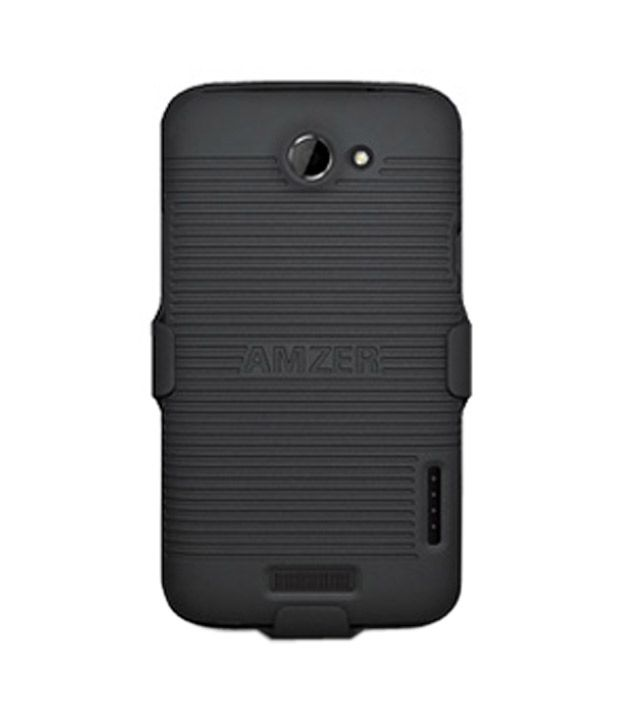 Amzer 93808 Shellster Black for HTC One X