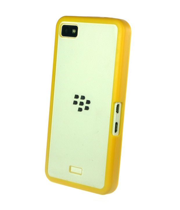 competitive price 65a20 21214 Dressmyphone Blackberry Z10 Transparent Back Cover With Bumper -  Transparent&