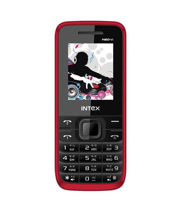 Intex Neo VI Red Black