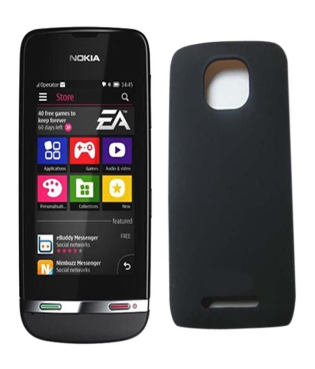 huge discount 5acc7 a81c4 Mono Back Cover Nokia Asha 311