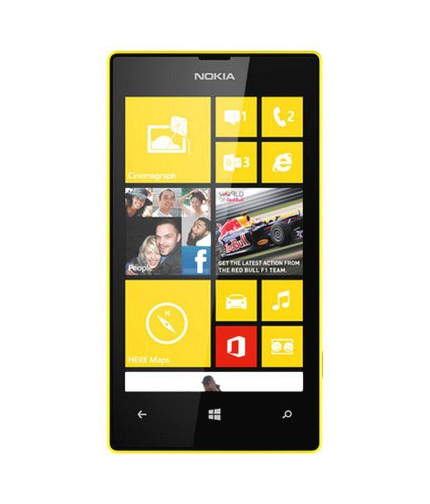 Nokia Lumia 520 Yellow Mobile Phones Online At Low Prices