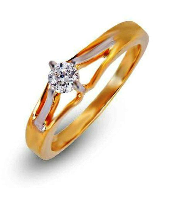 Shashvat Jewels 14Kt The Soliaris Solitaire Ring