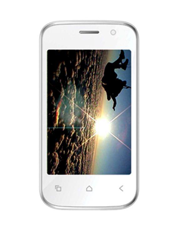 Videocon A16 White Chrome