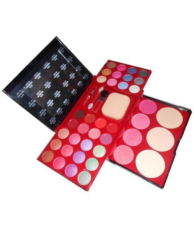 ADS Makeup-Kit Laptop With 24 Color Eye Shadow,Blusher,Compact Etc- A8199 - M...