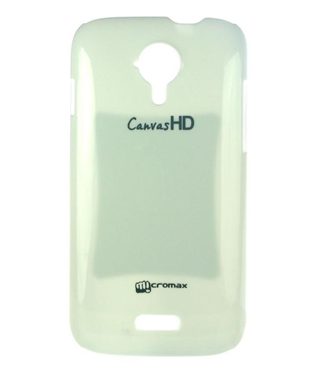 Dressmyphone Micromax Canvas 3/HD A116 Glossy Back Cover - White