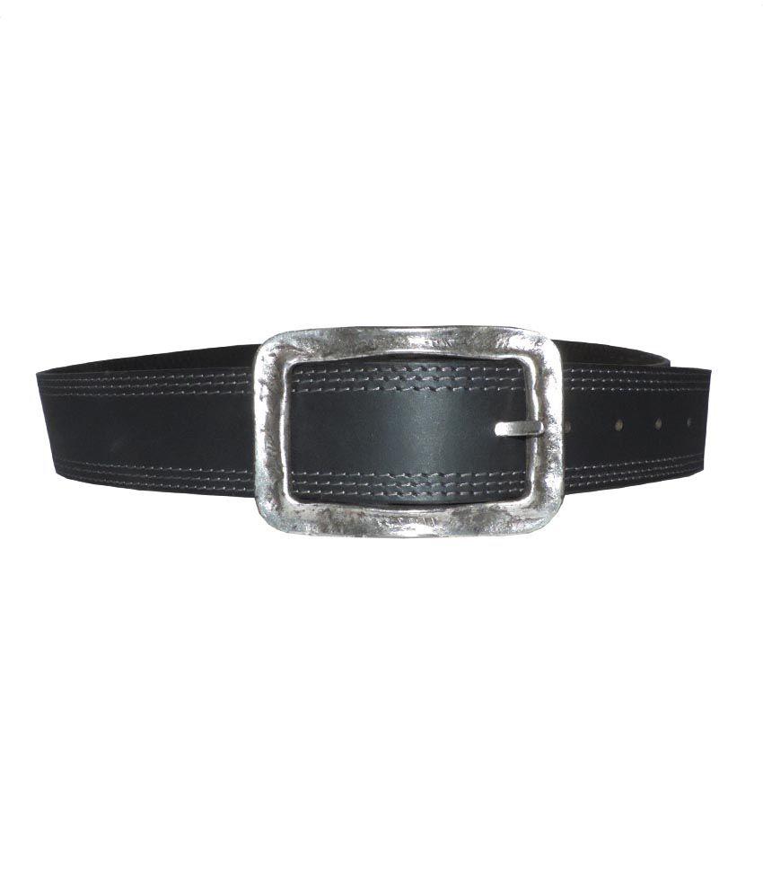 Rockport Black Casual Single  Belt  ForMen