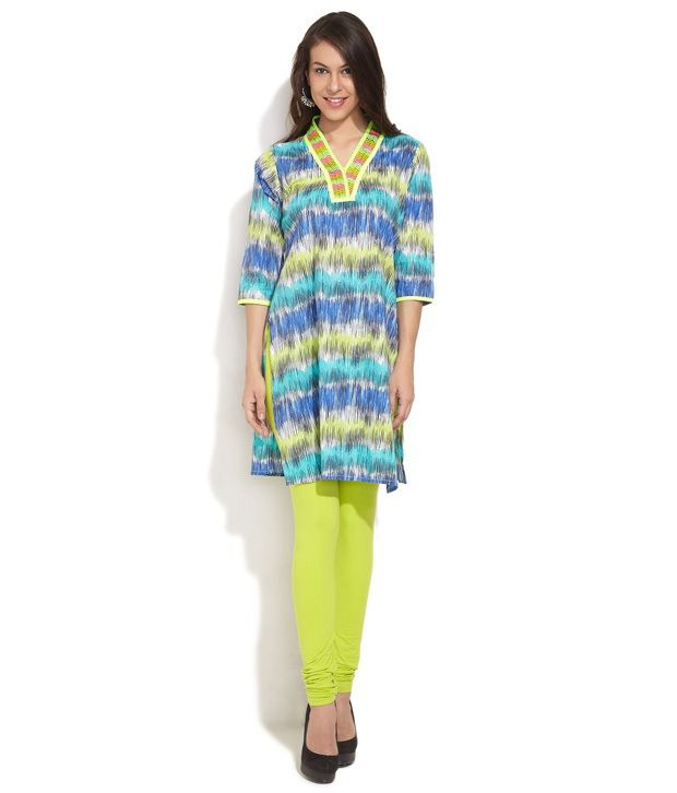 Shree Multi Printed Cotton Stitched Regular Fit Salwar Suit