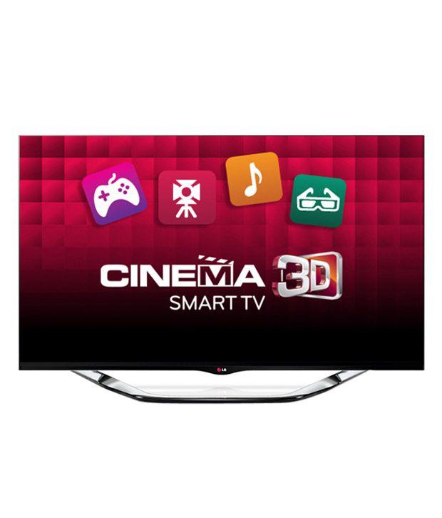LG 47LA8600 119.38 cm (47) Ultra Slim Cinema 3D Smart Full HD LED Television