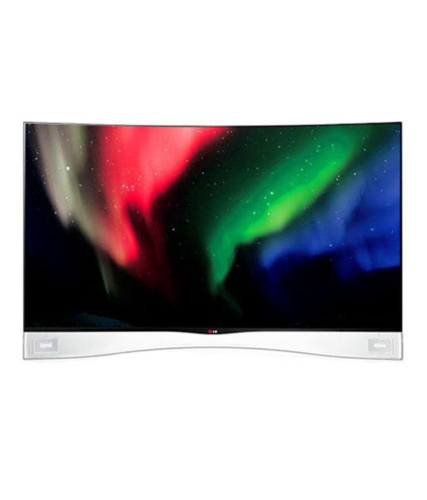 LG 55EA9800 139.7 cm (55) Full HD Curved OLED Cinema 3D Smart Paper Slim Television