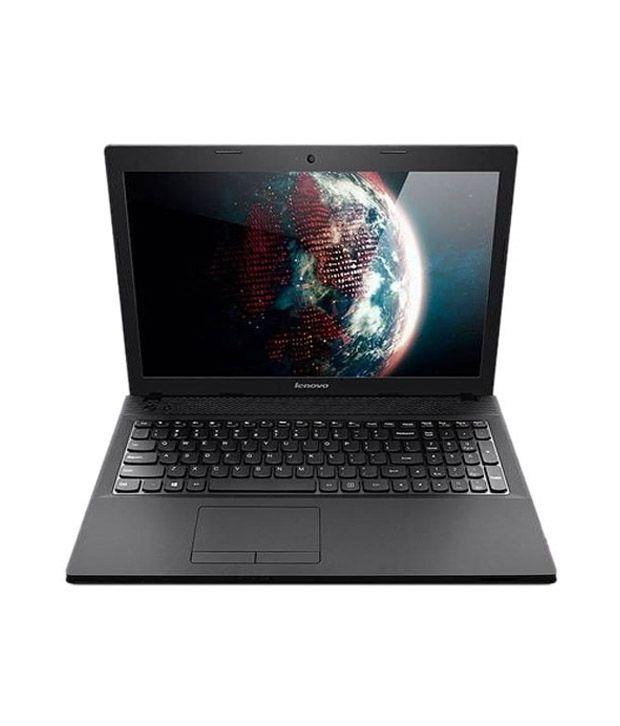 Lenovo G Series (59-379528) Laptop (AMD APU Quad Core  A4-5000- 2 GB RAM- 500 GB HDD- 39.62cm (15.6)- DOS- Integrated AMD Radeon HD Graphics) (Black)