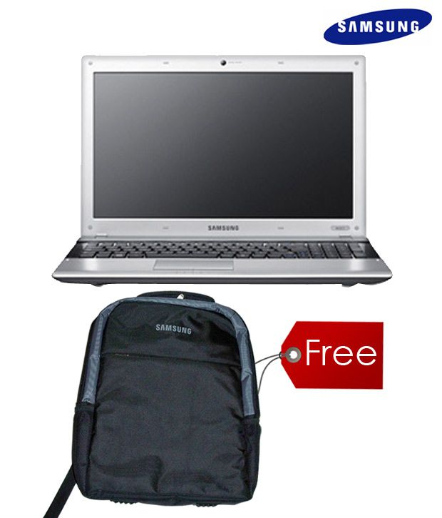 Samsung NP300E5Z-A0GIN Netbook (Silver-Black) with Free Laptop Backpack