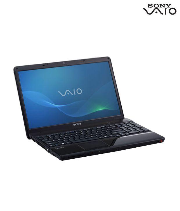 Sony VAIO E Series Laptop VPCEH38FN (Black)