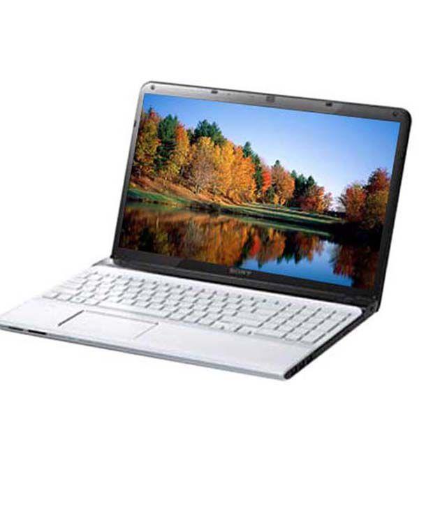 Sony VAIO SVE-15133CN Laptop (Intel Core i3 3120M- 2GB RAM- 500GB HDD- 39.37cm (15.5)- Win8- Intel HD Graphics 4000) (White)